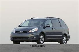 2007 toyota sienna mvma specifications