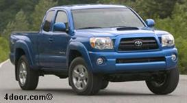 2007 toyota tacoma mvma specifications