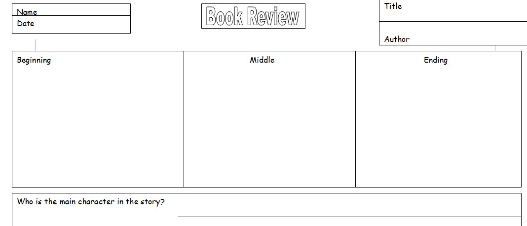 Teacher Resource Book Review Template for pupils | Software ...