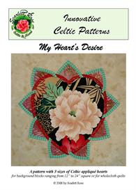 my heart's desire bias applique pattern