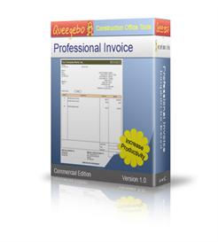 invoice template in  excel small business