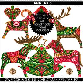 swedish folk xmas bumper combo pdfl