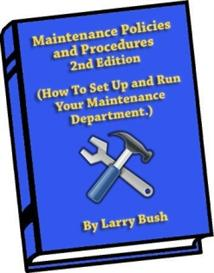 maintenance policy and procedures manual 2nd edition