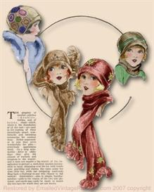 ~Make a SWEET 1920's Cloche HAT & SCARF SET~ | eBooks | Arts and Crafts