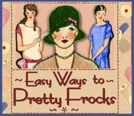 sew 1920s frocks easy make your own dress patterns