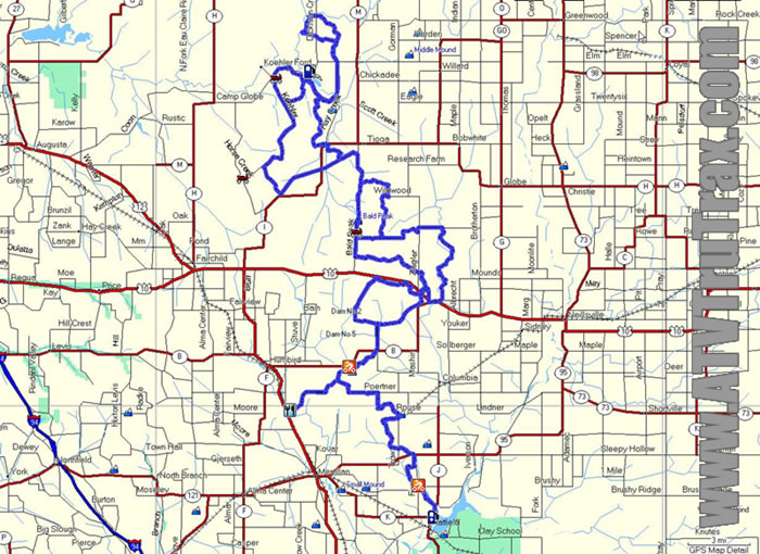 Clark County ATV Trail GPS Map | Other Files | Doents and Forms on