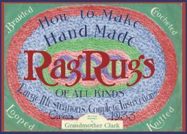 ~more make rag rugs like grandma~1933 pattern~