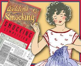 ~LEARN HOW TO SMOCK~ 2 vintage Booklets ~1930 & 40's! | eBooks | Arts and Crafts