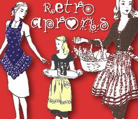 make more retro aprons~1940s & 50s patterns