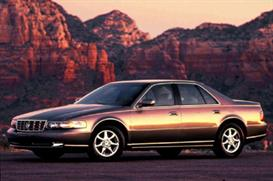 1998 cadillac seville mvma specifications