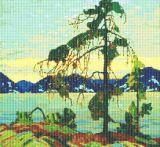 jack pine cross stitch pattern