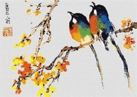 Rare Birds Cross Stitch Pattern | Other Files | Patterns and Templates
