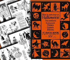 Dennison1926 Halloween BOGIE BOOK~FUN~ | eBooks | Entertainment