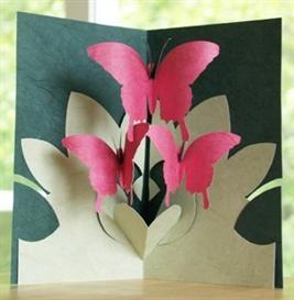 butterfly dance - easycutpopup