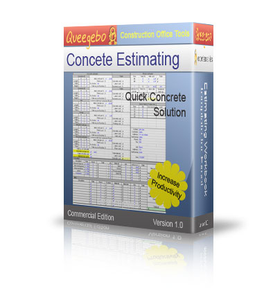 concrete calculator bid sheet software add ons and plug ins