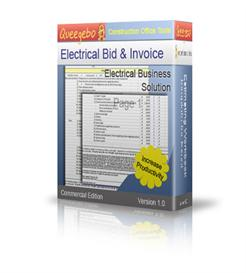 electrical house bid - takeoff software
