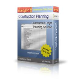 project planning checklist for construction