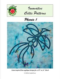Phoenix 1 applique pattern | Crafting | Sewing | Quilting