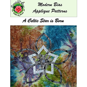a celtic star is born modern bias applique pattern