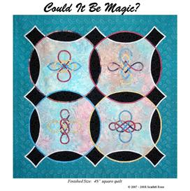 could it be magic? bias applique pattern