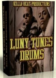 luny tunes drum kit & samples