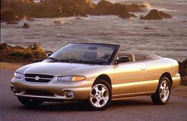 1998 chrysler sebring convertible mvma specifications