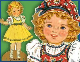 SHIRLEY & SHELLIE ~Printable Magnetic  Paper Doll Friends | eBooks | Arts and Crafts