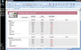 Wedding Planner Excel Spreadsheet | Software | Business | Other