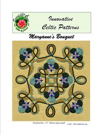 maryanne's bouquet bias applique pattern