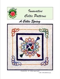 a celtic spring bias applique pattern