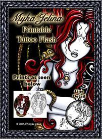 complete collection myka jelina printable tattoo flash