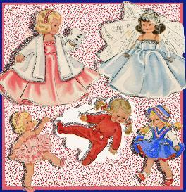 GINNY the BRIDE~Gown~TUTU~Fur & Muff~PJs~ | eBooks | Arts and Crafts