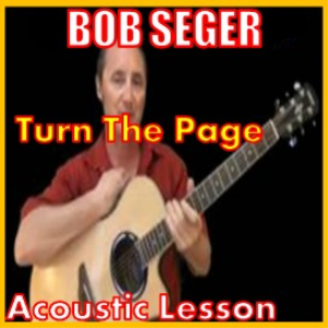 learn to play turn the page by bob seger