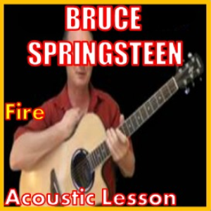 learn to play fire by bruce springsteen