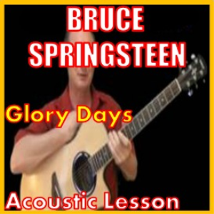 learn to play glory days by bruce springsteen