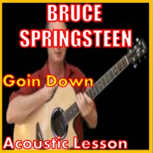 learn to play im goin down by bruce springsteen