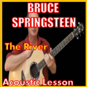 learn to play the river by bruce springsteen