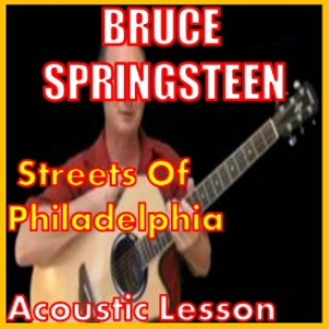 learn to play streets of philadelphia by bruce springsteen