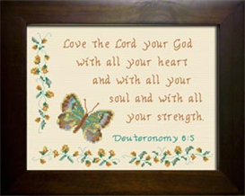 heart soul strength - deuteronomy 6:5