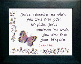 remember me - luke 23:42