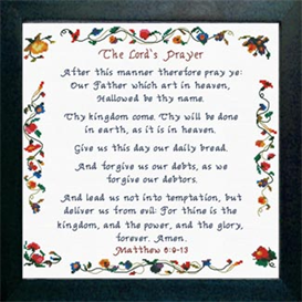 the lord's prayer - matthew 6:9-13