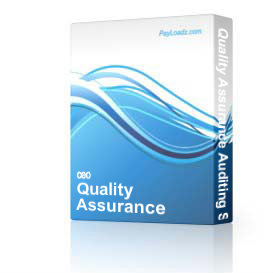 quality assurance auditing software - non enterprise home edition