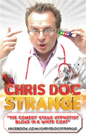 stage hypnosis secrets revealed - lecture bristol magic society 2012 - chris doc strange - how to be a stage hypnotist
