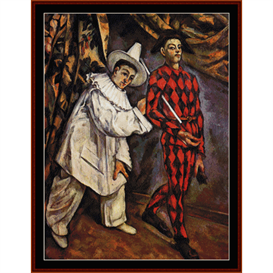 Mardis Gras - Cezanne cross stitch pattern by Cross Stitch Collectibles | Crafting | Cross-Stitch | Other