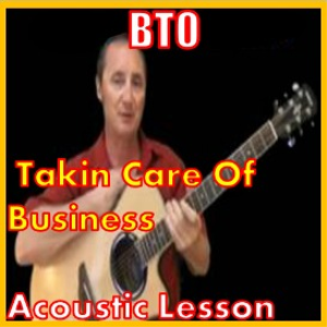 learn to play takin care of business by bto