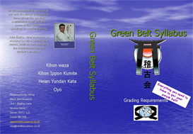 green belt syllabus