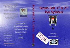 brown belt syllabus