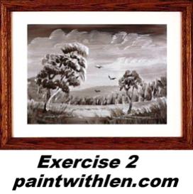 2 paint foliage
