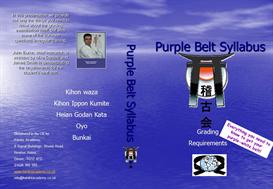 Purple Belt Syllabus | Movies and Videos | Educational