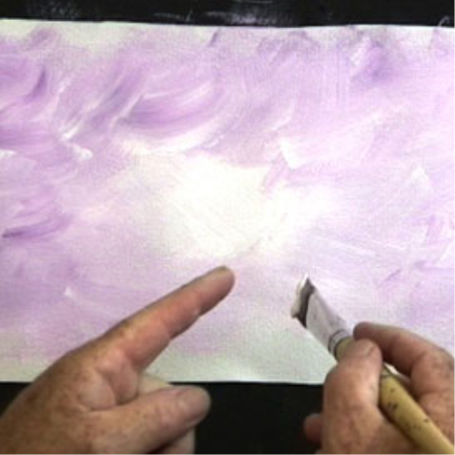 First Additional product image for - 6 Paint in Violet